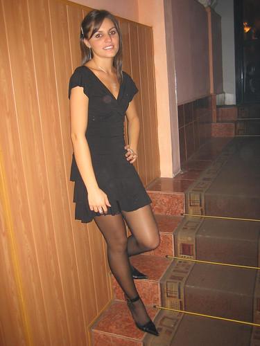 русские женщины в чулках и колготках