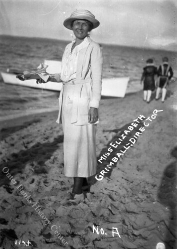 Miss Elizabeth Grimball, Director | by Outer Banks History Center