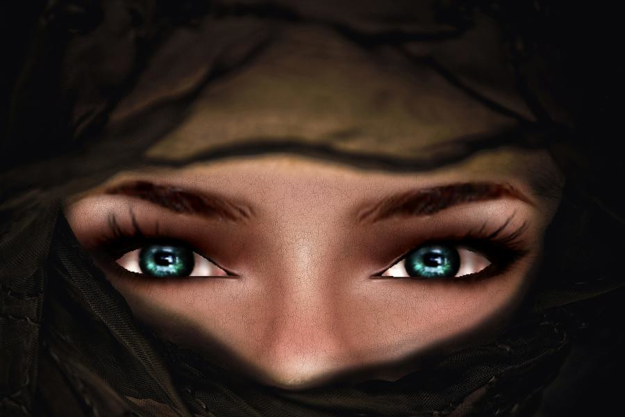Sexy Eyes  Why Do Muslim Women Cover Their Faces  Ed -6592