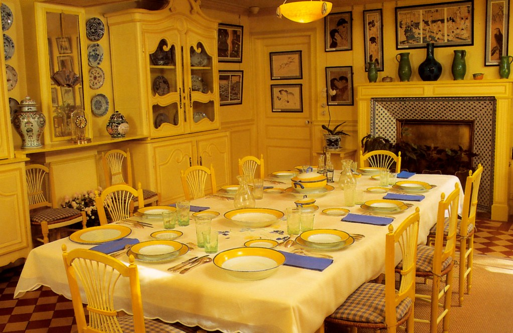 Giverny Monets Haus Speisezimmer Monet 39 S House Dining