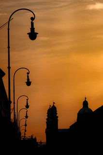 Munich in Silhouette | by Werner Kunz