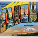 Greetings from Tacoma, Washington - Large Letter Postcard