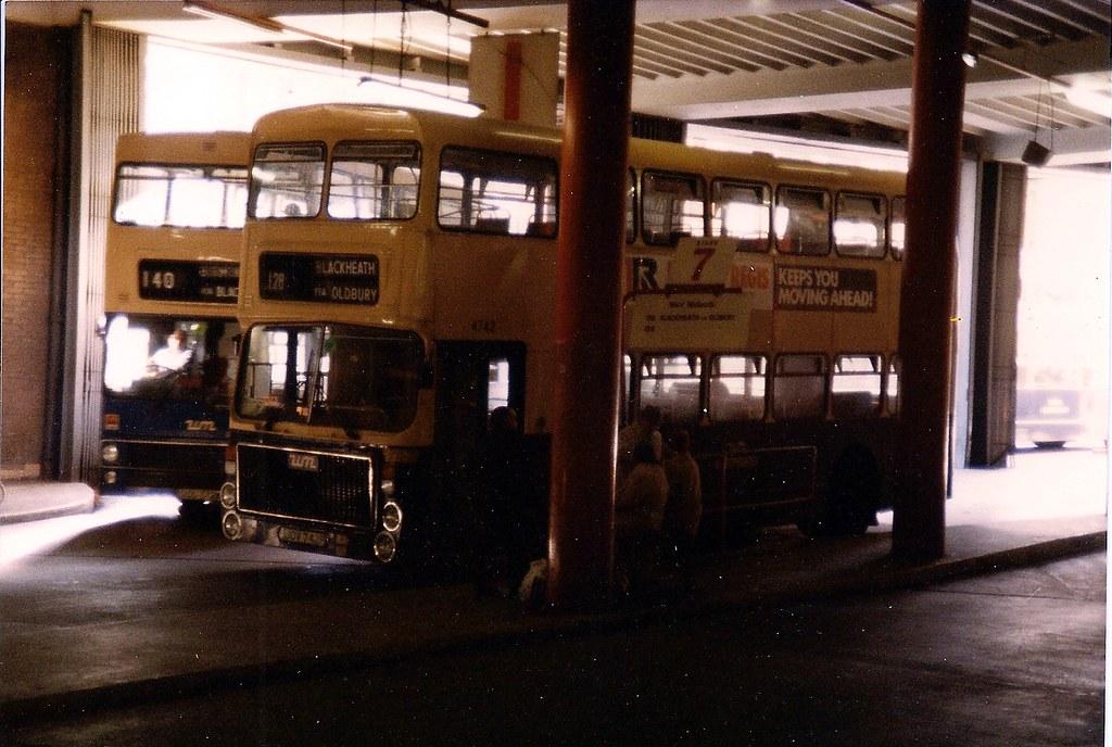 Volvo Ailsa inside Birmingham Bull Ring Bus Station   Flickr
