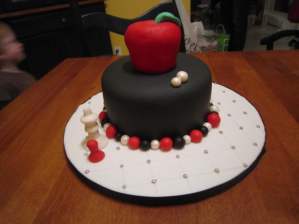 Twilight Birthday Cake For My Daughter Birthday Cake Done Flickr