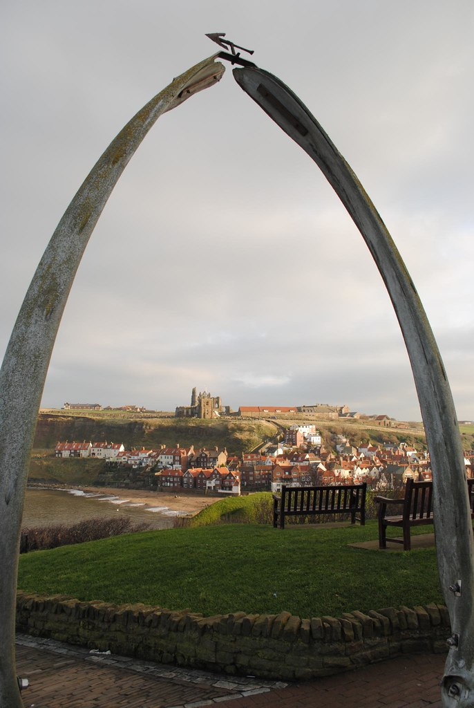 Whitby from the Whalebone Arch   The Whalebone Arch commemor…   Flickr