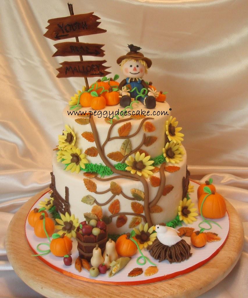 Fall Cake Ideas Birthdays