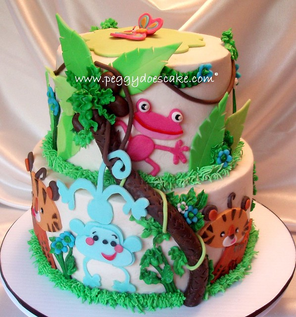 Fisher Price Rainforest Cake