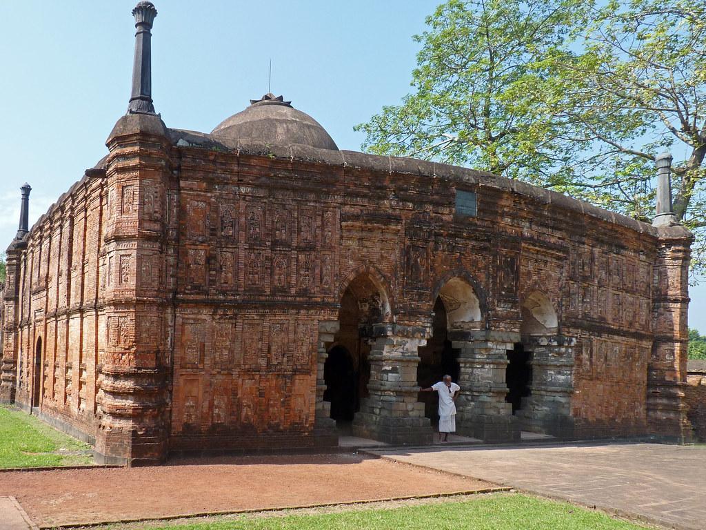 Muharram Mirror: Qadam Rasul Mosque of Gaur-India