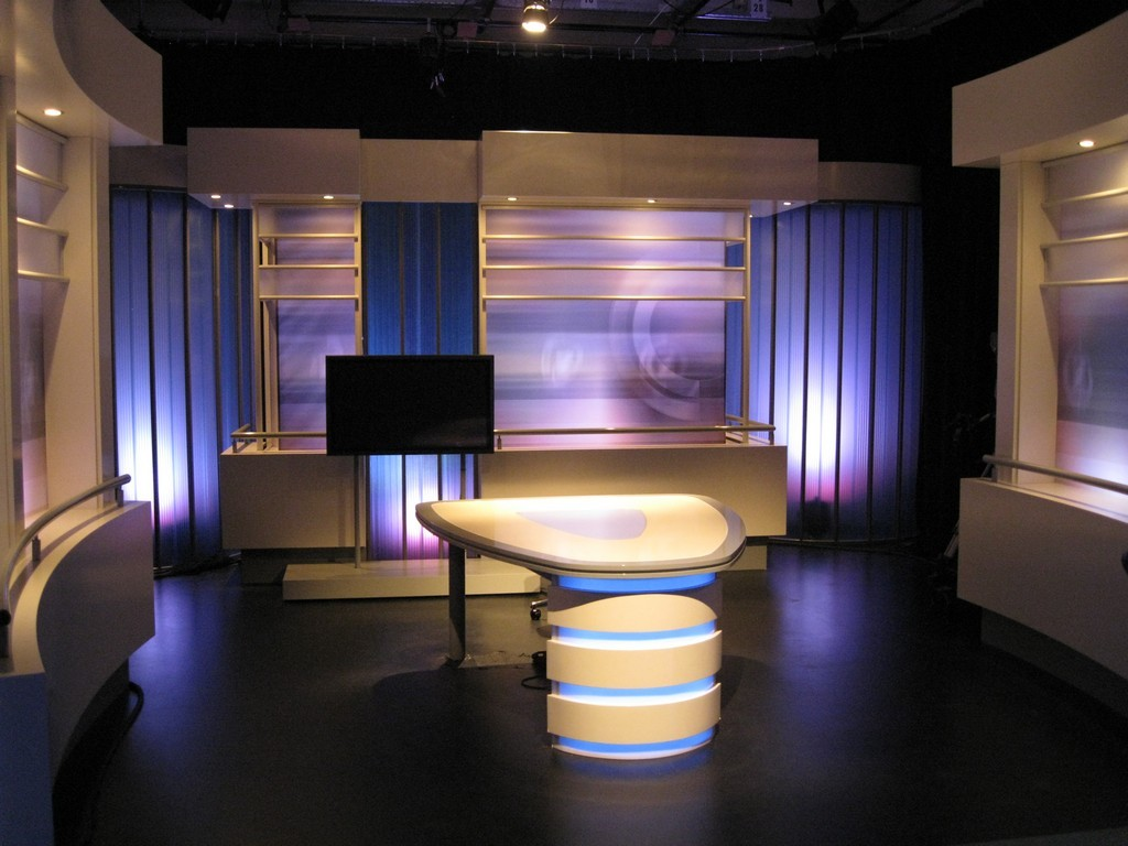 Tv Studio Omroep Zeeland Made During Our Visit To The