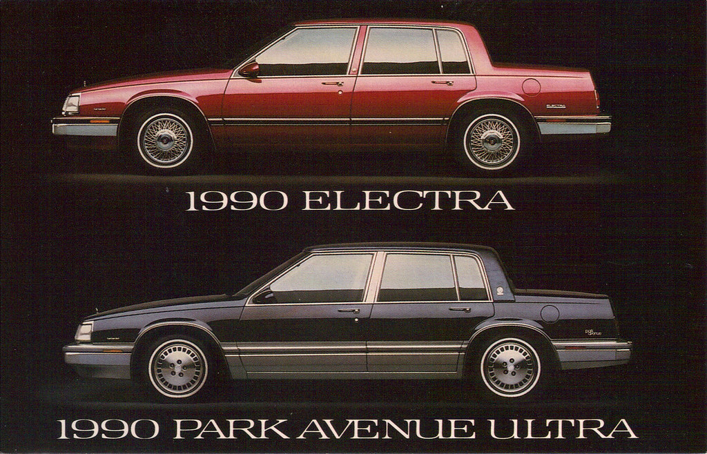 1990 Buick Electra and Park Avenue | coconv | Flickr