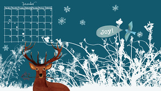 December wallpaper calendar | by Geninne