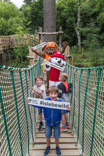 Family Travel Tip: Isle Be Wild at Brodick Castle, Arran