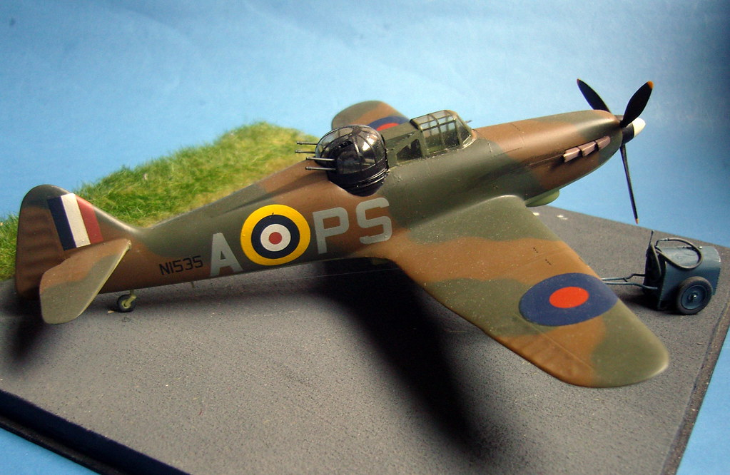 Model Boulton Paul Defiant Mk I 1 48 Scale Built From