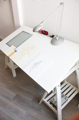 010072803 estrenando mesa de dibujo por f n con tiempo for Mesas de dibujo baratas