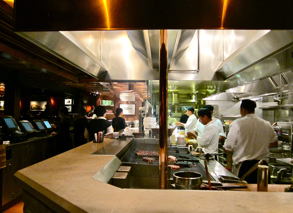 The Open Kitchen At Houstons Restaurant Pasadena Ca Flickr