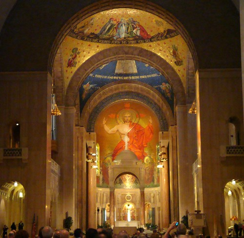 Explore This Immaculate New: Interior Of The Basilica Of The National Shrine Of The Imm