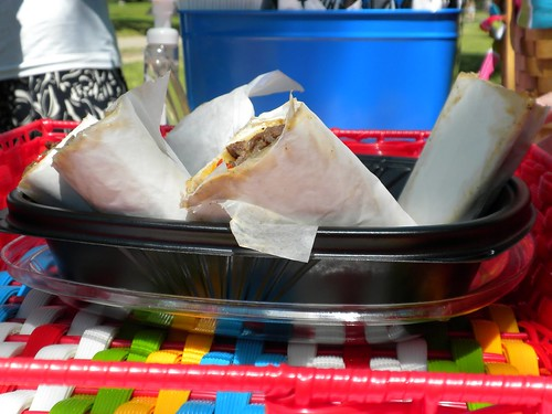 Sandwiches in a Square Bowl | by Noodles and Company