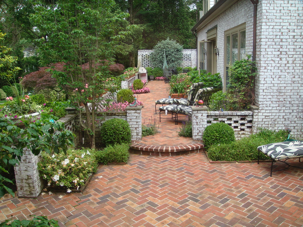 Backyard Patio Designs For Adobe Houses