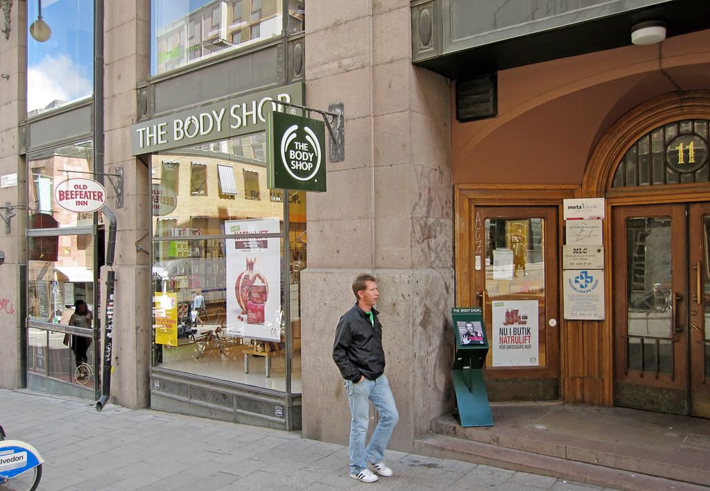 body shop butiker stockholm