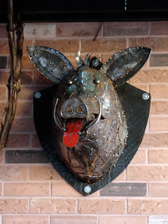 Metal Pig Bust | by daryl_mitchell