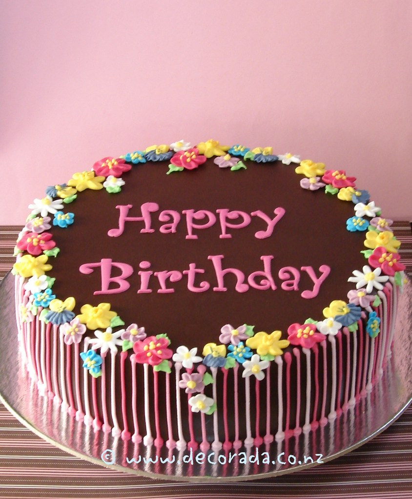 Visions Floral Art And Cake Design : Floral Birthday Cake From the Peggy Porschen Valentine ...