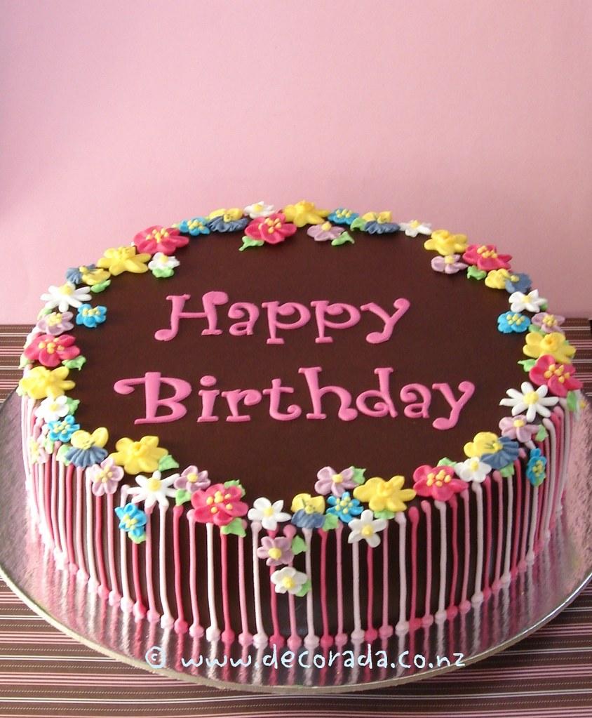 Floral Birthday Cake From the Peggy Porschen Valentine Hea Flickr
