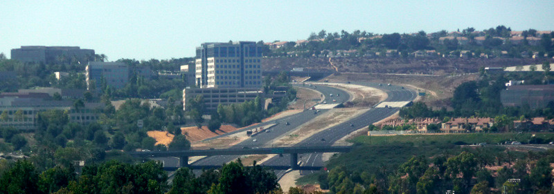 Orange County Panorama The 73 Tollway Aliso Viejo By Joeinsouthernca