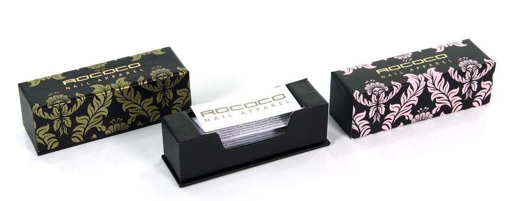 Rococo Nail Varnish Cosmetics Packaging