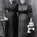 """Two Unidentified Women, in a """"Rosh Hashanah"""" frame"""