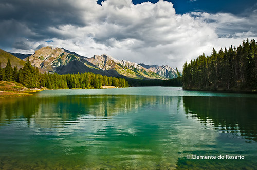 Johnson Lake Banff National Park Alberta Canada Johnson