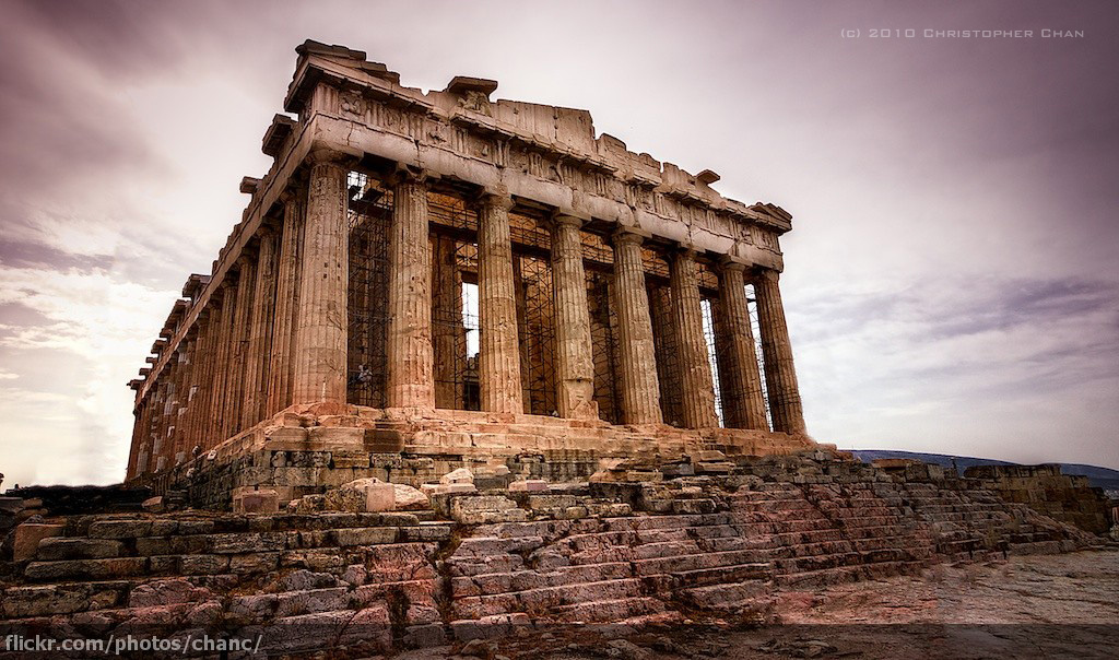 An analysis of the architecture of the parthenon an ancient greek temple
