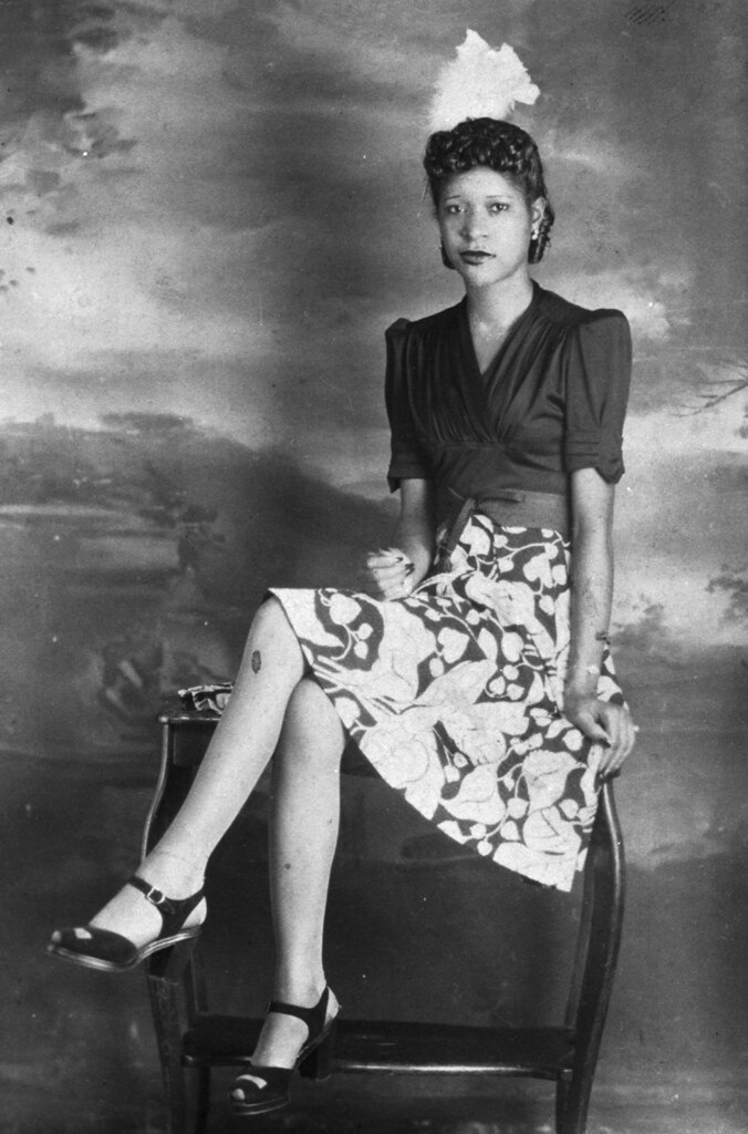 African American Woman 1940s Profkaren Flickr