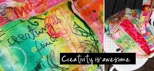 Creativity is awesome blog post by iHanna