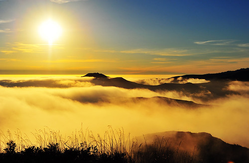 Golden Ocean of Fog | by MikeBehnken