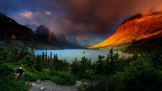Saint Mary Lake | by Tom Stoncel