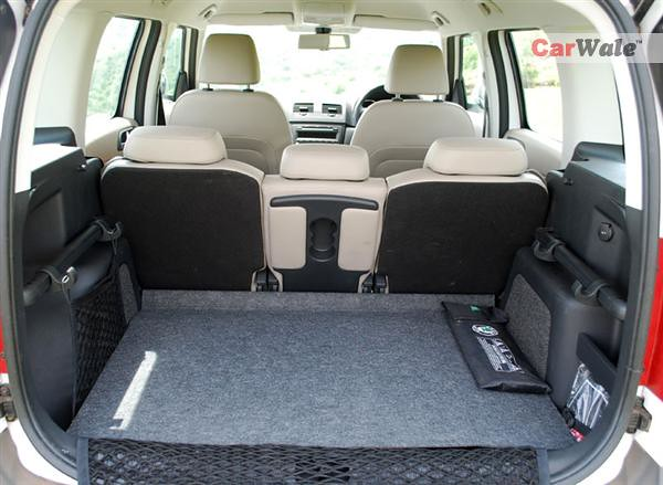 Interior Skoda Yeti Yeti Gets 415 Litres Of Boot Space Flickr