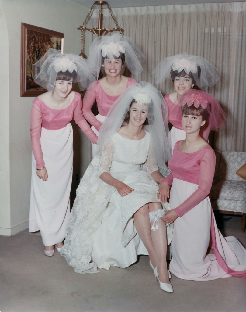 1966 wedding i found a wedding album at the thrift store t flickr 1966 wedding by phillip pessar ombrellifo Images