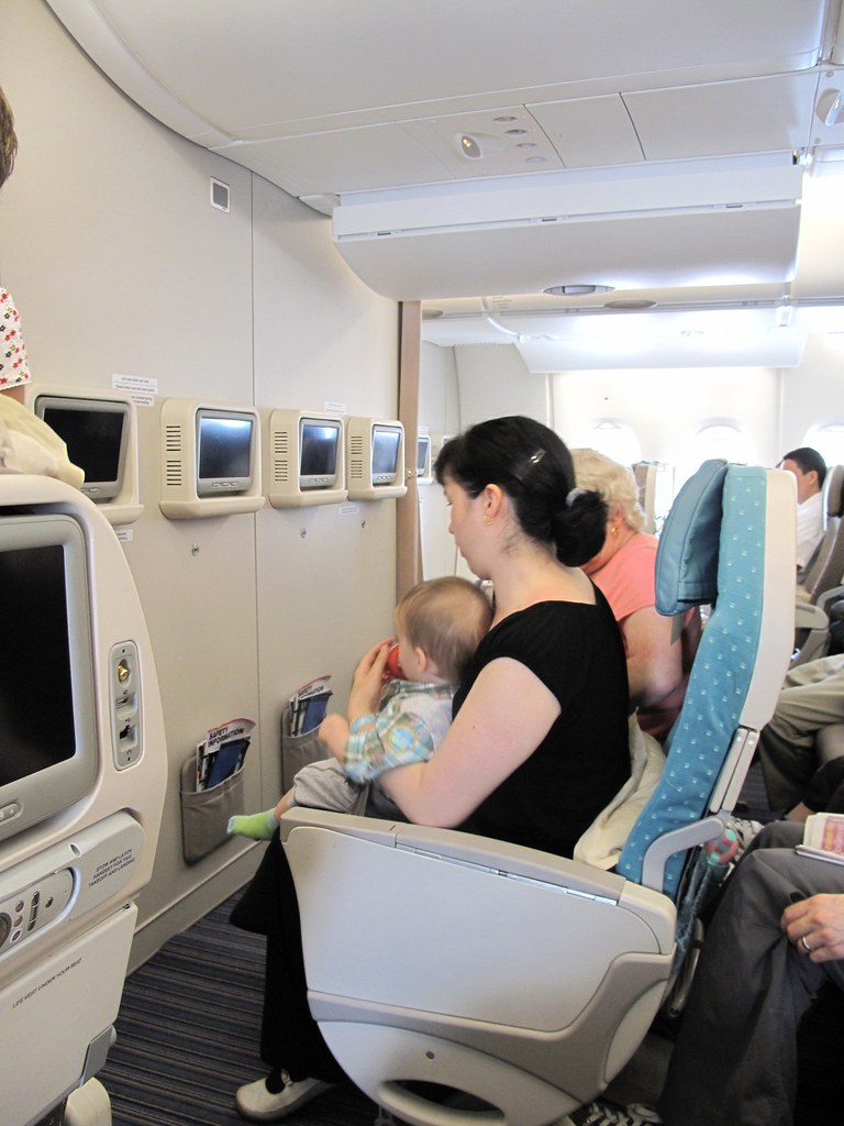 SIA A380 bassinet seats | I really wish I'd actually taken ...