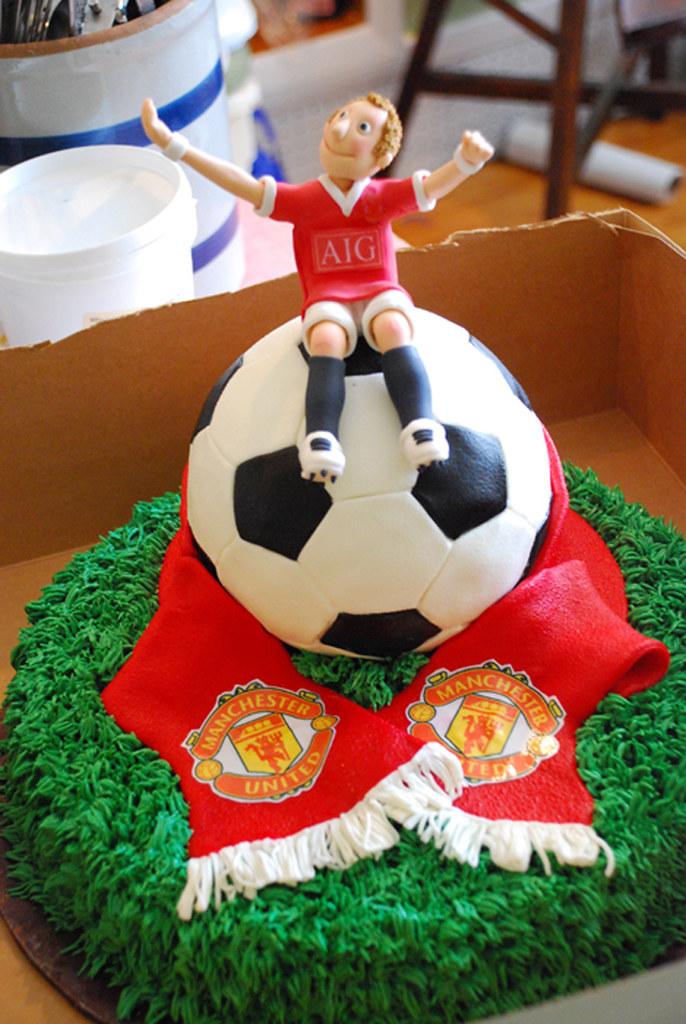 Soccer Ball Groom S Cake A Groom S Wedding Cake For A
