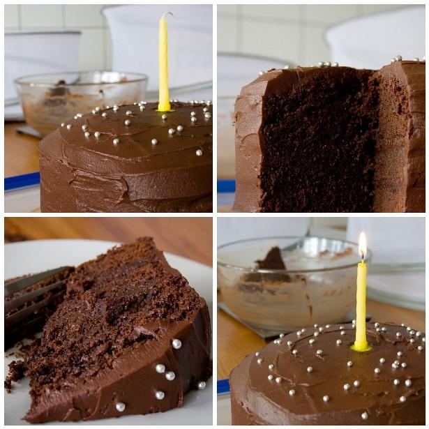 Potato Birthday Cake