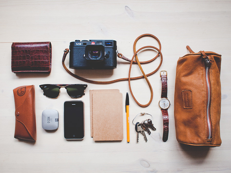 ... What's in my bag | by Benjamin Bergh