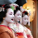 funny / fun / laugh / japanese / girls / ohaguro / geisha / maiko