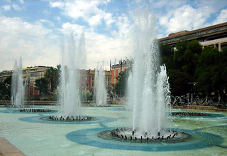 Fountains, Place Massena, Nice, France | by jthornett