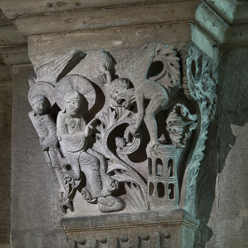 Autun Cathedral Capital - The Temptation of Christ | by Stan Parry