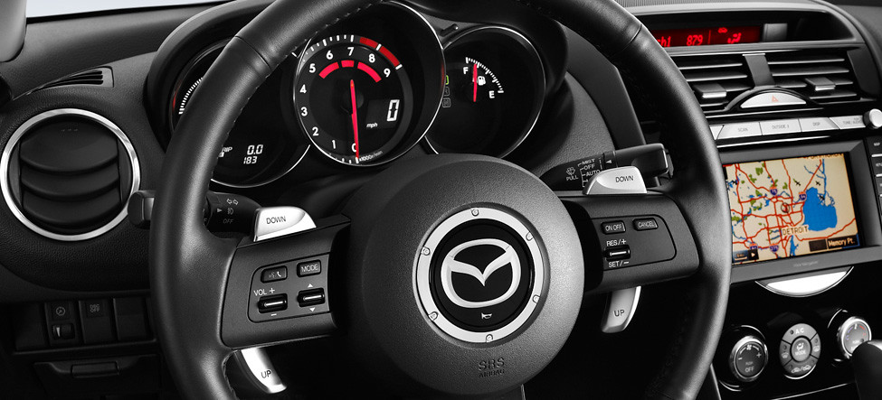 2011 Mazda Rx 8 Interior Steering Wheel Mounted Paddle Shi Flickr