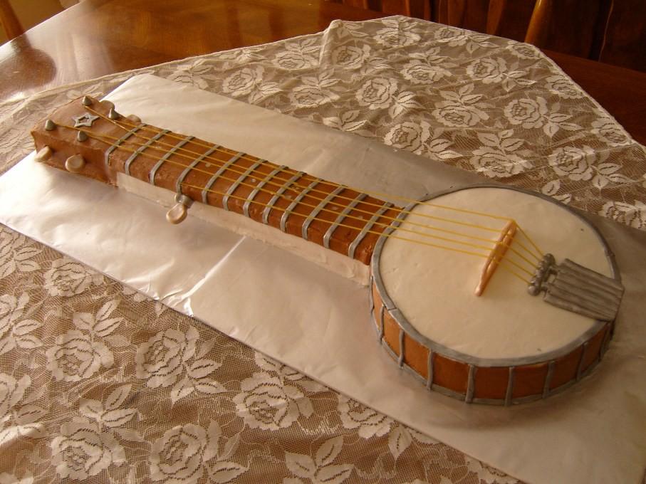 Cake Pan Banjo