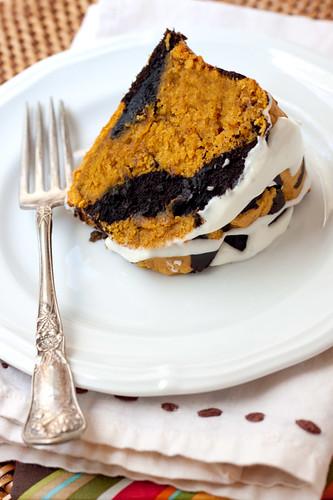Chocolate Pumpkin Cake Recipe Country Living