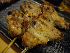 Tebasaki (手羽さき - Chicken wings)@ Yokohama Yakitori Kobou