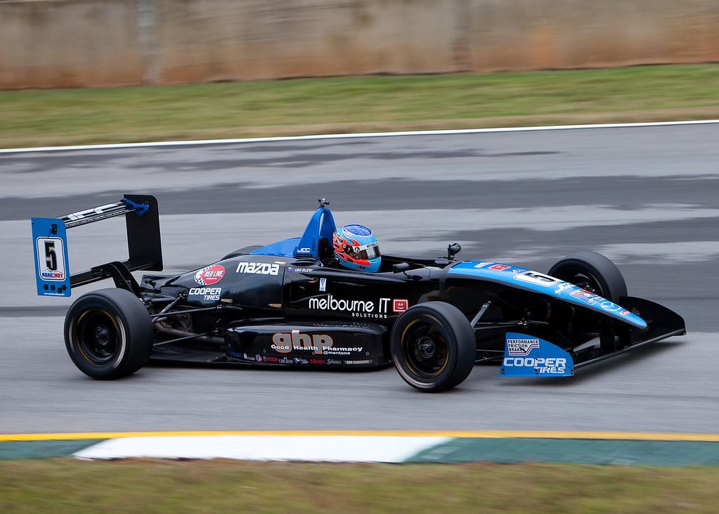 Luke Ellery at Road Atlanta 2010 USF2000 National Champion… | Flickr