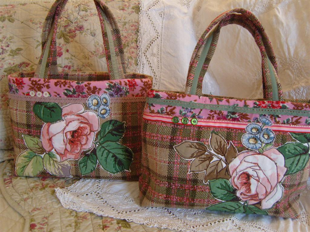 Applique handbags marmaladerose flickr